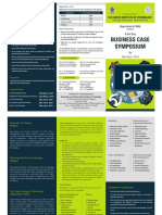 Business Case Symposium Brochure