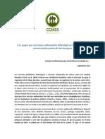 Vulnerabilidad de Los Bosques y Sus Servicios Ambientales Al Cambio Climatico