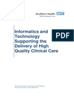Information Technology Supporting the Delivery of High Quality Clinical Care (Apr-12)