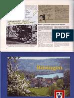 Zusammenstellung Staatsangehoerigkeit Deutschland in Ausweis Buesingerin Vom 2-4-1942 Aus Dorfchronik Busingen
