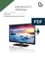 """L20PTC17-19.4""""-49cm-HD-LED-LCD-TV-IM"""