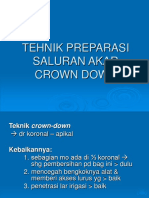 Crown Down Tehnik