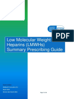 Low Molecular Weight Heparins Summary Prescribing Guide Version 1.3