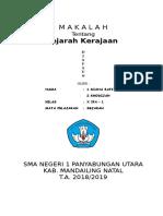 Makalah Kerajaan Indonesia