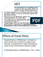 Fiscal Policy 1