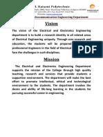Vision Mission EE