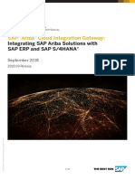 SAP Ariba Cloud Integration Gateway Integrating SAP Ariba Solutions With SAP ERP and SAP S4HANA