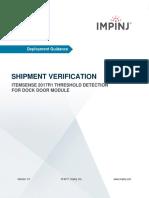 EXT ShipmentVerification Deployment