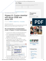 Hyper-V_ Como Montar Um Drive USB Em Uma VM