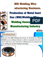 MIG Welding Wire Manufacturing Business