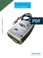 Usb Rs485-232 Converter V_1.1 En