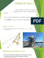 Presentation on Tower Crane