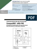 CompactRIO CRIO-FRC 8 Slot