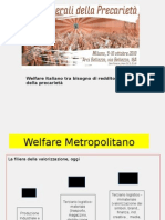 Stati Generali della Precarietà - Slide workshop Welfare italiano tra bisogno di reddito e ricatto della precarietà