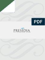 Presidia Plan Booklet