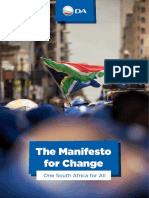 DA 2019 Manifesto