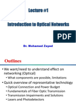 01 Lecture 1 Optical Network