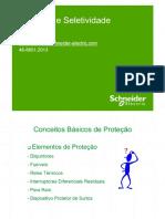 Proteção e Seletividade. Sidnei Castro - PDF