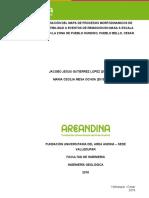 Elaboracion Del Mapa de Proceso Morfodinámico de Susceptiblidad a Eventos de Remoción en Masa a Escala 1_2000 en La Zona de Pueblo Hundido, Pueblo Bello, Cesar