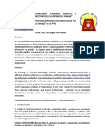 Intercambio univeristario Perú- Panama
