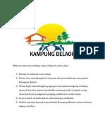 Logo Kampung Belaoh