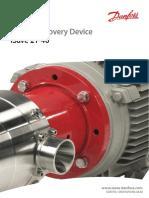 Danfoss Isave Datasheet Energy Recovery Device