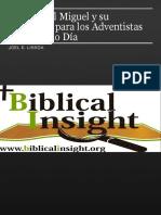 El Arcangel Miguel y Su Relevancia Para Los Adventistas Del Septimo Dia