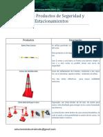 Catalogo Productos de Seguridad y Estacionamientos