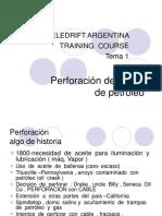Perf. de Pozos