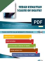 Forensik 2 - Sebab Kematian