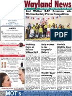 The Wayland News March 2019