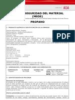 Ficha Tecnica Gas Propano