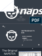 Relaunch of NAPSTER