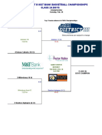 Updated PIAA District-III 2A boys brackets