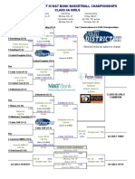 Updated PIAA District-III 6A girls brackets