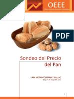 Sondeo del precio del pan