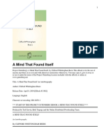 A Mind That Found Itself