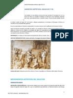 Movimientos artisticos del siglo xix y xx