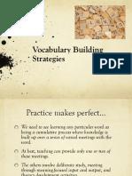 Vocabulary Building Strategies