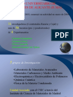Presentacion Del Iuma Cienciatec 2005