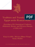 Tradition and Transformation_ Egypt Under Roman Rule