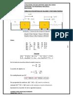método de valores y vectores propios en sistemas de 2gdl sin amortiguamiento