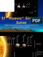 Astronomía (Nuevo Sistema Solar) 2006