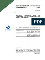 ISO 17025 Laboratorios