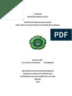 Contoh laporan program kerja nyata Mahasiswa