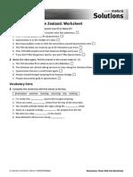 6C Queenstown_worksheet, Answers, Script