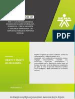 Diapositivas Decreto 4725 de 2005