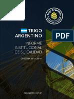 Trigo Argentino Cosecha 2015-2016