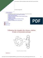 Travaux Dirigés Et Exercices Imposés - ...Elation d'Euler Et Du Premier Principe