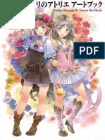 Artbook Atelier Rorona Totori
